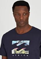 Billabong  - Palms Wave Short Sleeve T-Shirt Navy