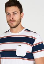 Billabong  - Zero Stripe Surfplus T-Shirt White