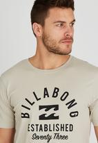 Billabong  - Cubed Out Short Sleeve T-Shirt Grey