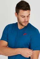 Nike - NSW Club T- shirt Mid Blue