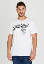 Billabong  - Province Short Sleeve T-Shirt White