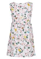 Soobe - Printed Summer Dress Multi-colour