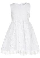 POP CANDY - Printed Dress White