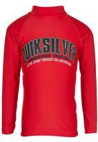 Quiksilver - Lifeboy  Rashvest Red