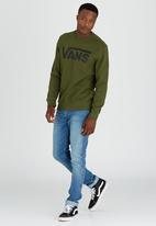 Vans - Vans Classic Crew Sweater Green