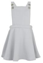 See-Saw - Dungaree Dress Grey