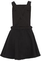 See-Saw - Dungaree Dress Black