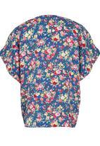 See-Saw - Printed Kimono Top Multi-colour