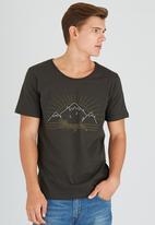Wrangler - Mountain State Tee Khaki Green