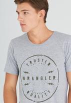 Wrangler - Zapped Tee Grey