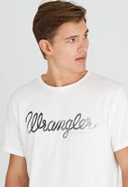 Wrangler - Classic Rope Tee Off White