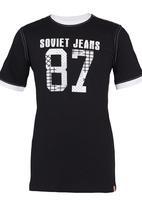 SOVIET - Jasper Printed Tee Black