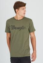 Wrangler - Classic Tee Green