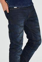 Alpha Industries - Foxtrot Slim Fit Jean Black