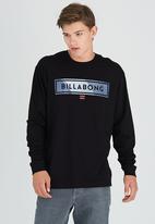 Billabong  - Frontliner LS Tee Black