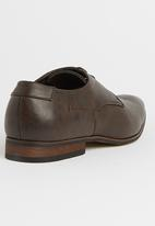Gino Paoli - Denim 1976 Lace-Up Shoes Dark Brown