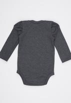 Eco Punk - Babygrow Grey