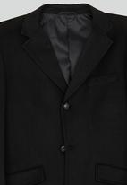Brooksfield - Cardif Overcoat Black