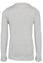 See-Saw - Scallop Neck Jumper Grey