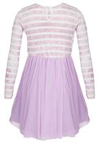 See-Saw - Combo Dress Pale Purple