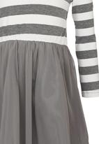 See-Saw - Combo Dress Grey