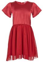 See-Saw - Fit & Flare Party Dress Dark Red