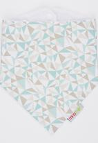Mina Moo - Sage & Sand Prism Bib Multi-colour