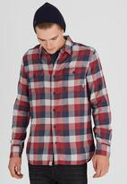 Vans - Alameda Long Sleeve Shirt Red