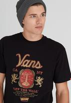 Vans - Cold One Tee Black