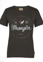 Wrangler - Vireos Eye Tee Black