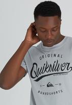 Quiksilver - Home Run Tee Grey