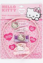 Character Fashion - Hello Kitty Alice Band Combo Set Mid Pink