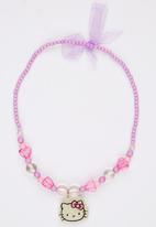 Character Fashion - Hello Kitty   Necklace Mid Pink