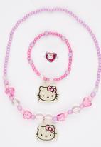 Character Fashion - 3 Piece Hello Kitty Set Mid Purple