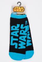 Character Fashion - Star Wars Sleep Sock Black and Blue