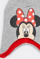 Character Fashion - Minnie Mouse   Trapper Beanie Multi-colour
