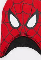 Character Fashion - Spiderman Trapper Beanie Red