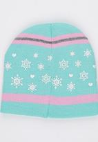 Character Fashion - Frozen Basic Beanies Pale Blue