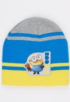 Character Fashion - Minions Basic Beanies Blue and Yellow