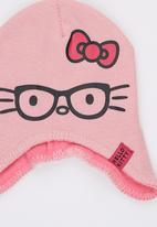 Character Fashion - Hello Kitty  Trapper Beanie Mid Pink