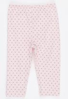 Just chillin - Bunny Border Suit Pale Pink