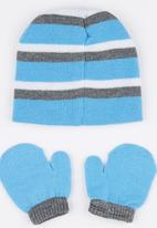 Character Baby - Mickey Mouse Beanie & Mitten set Mid Blue