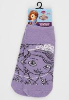 Character Fashion - Sofia  Sleep Sock Mid Purple