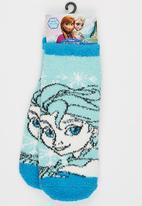 Character Fashion - Frozen Sleep Sock Mid Blue
