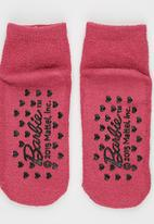 Character Fashion - Barbie Sleep Sock Mid Pink