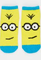 Character Fashion - Minions   Sleep Sock Blue and Yellow