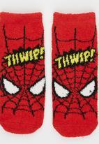 Character Fashion - Spiderman Sleep Sock Red