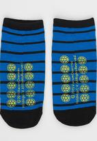 Character Fashion - Turtles Slipper Sock Multi-colour