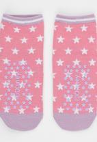 Character Fashion - Sofia Slipper Sock Mid Pink