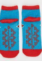Character Fashion - Superman Sleep Sock Mid Blue